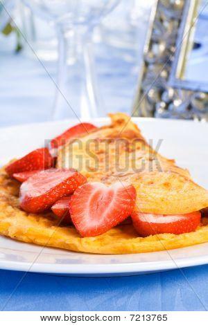 Strawberry Omelette