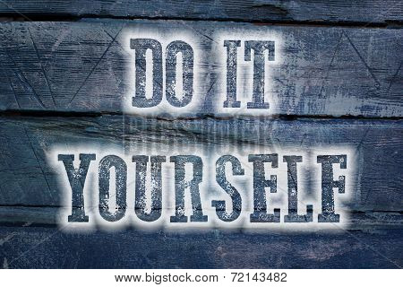 Do It Yourself Concept