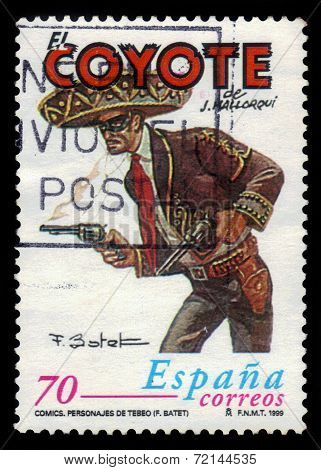 El Coyote, Spanish Fictional Character
