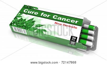 Cure for Cancer - Pack of Pills.