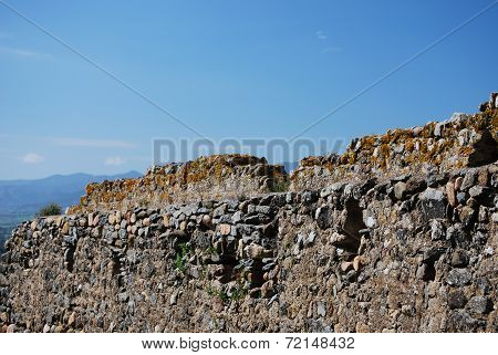 Castle of Acquafredda. Sardinia. Italy