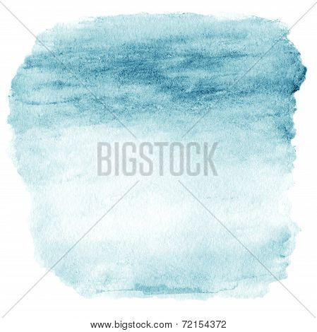 Watercolor Ombre Background. Watercolor Wash Top Abstract Frame Beautiful Colors.