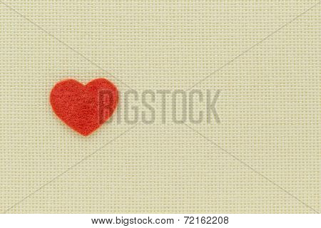 Heart And Love Symbol On A Light Background