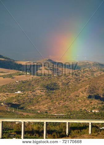 Rainbow over AVE
