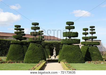 French formal garden