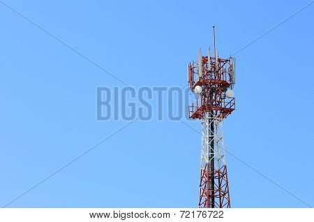 Communication Antenna And Telecommunication Radio Antenna And Mobile Tower Communication Antenna