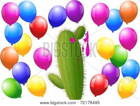 Balloons Cactus