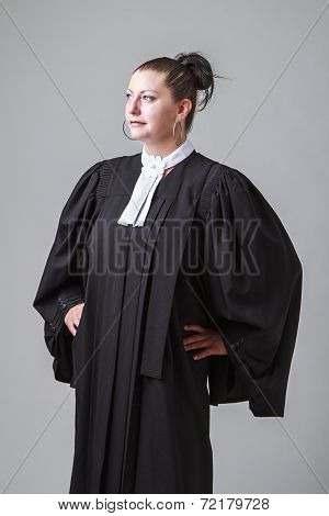 Lawyer Looking Afar