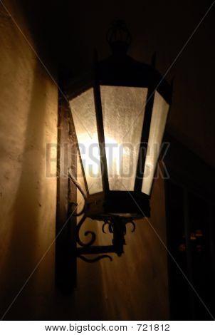 The golden lamp