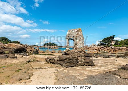 Oratory Of Saint Guirec, Perros-guirec (france)