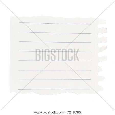Note Notebook leere schreiben