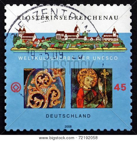 Postage Stamp Germany 2008 Monastic Island Of Reichenau