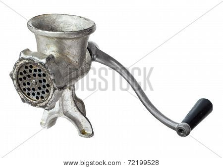 Old Manual  Iron Meat Mincer