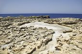 stock photo of gozo  - Gozo Scenic Views in the summer day - JPG