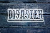 image of disaster preparedness  - Disaster Concept text on background sign idea - JPG