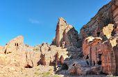 pic of petra jordan  - Nabataeans capital city  - JPG