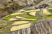 stock photo of jammu kashmir  - Skyumpata village  - JPG