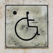 picture of handicap  - handicapped parking sign background handicapped parking sign - JPG