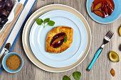 stock photo of phyllo dough  - Delicious Homemade dessert - JPG