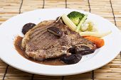 pic of t-bone steak  - grilled t - JPG