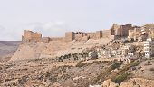 image of crusader  - Al Karak/Kerak Crusader Castle Fortress in Jordan Middle East.