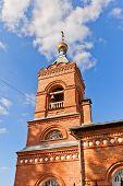 picture of saint-nicolas  - Bell tower of orthodox church of Saint Nicholas the Wonderworker  - JPG