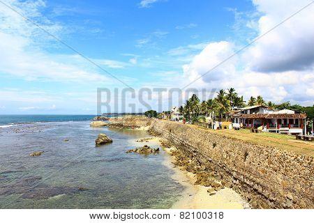 Wall Galle Fort, Sri Lanka