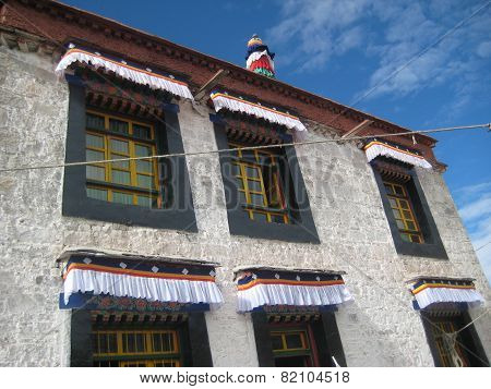 Architecture In Tibet