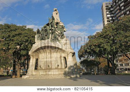 Memorial For Doctor Robert, Barcelona