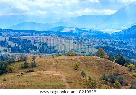 Autumn Mountain Village