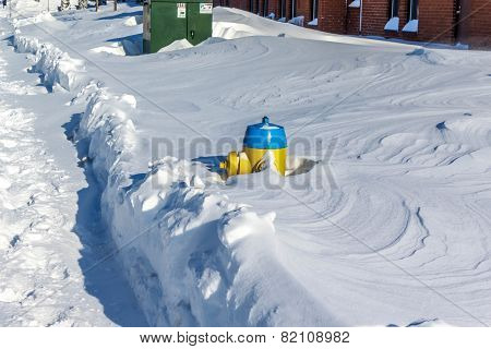 Snow Covered Hydrant