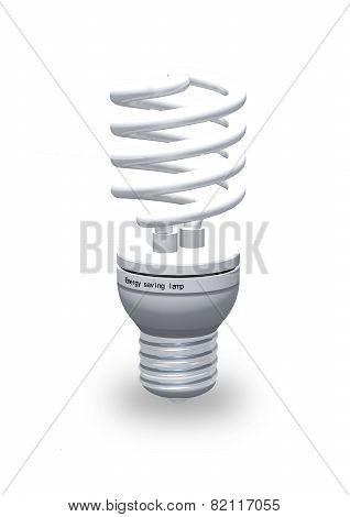 Modern Energy Saving Lamp.