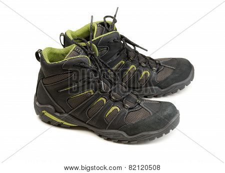Pair Of Winter Boots Trekking