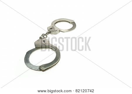 Real Iron Handcuffs