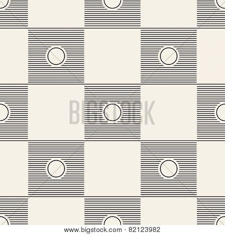 Seamless square pattern tile background geometric
