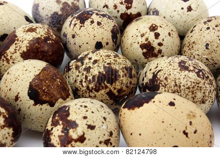 Background Quail Eggs
