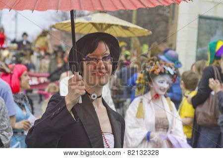 Mardi Gras Asheville Style