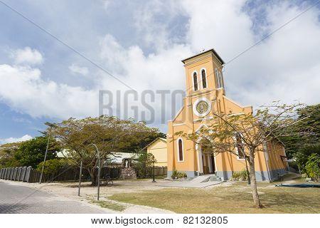 St. Mary's Church, La Digue, Seychelles