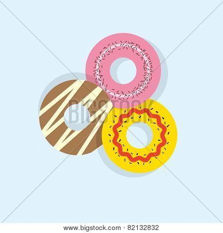 Three Donuts.