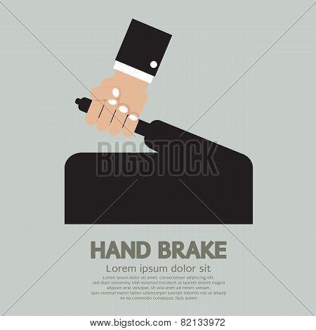 Hand Brake.