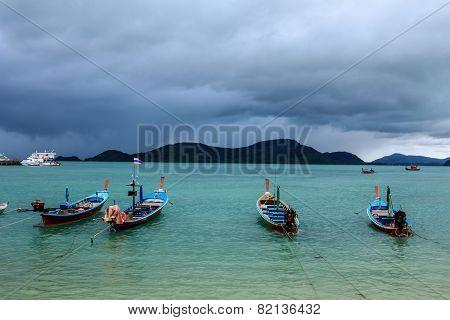 Boat And Nimbus