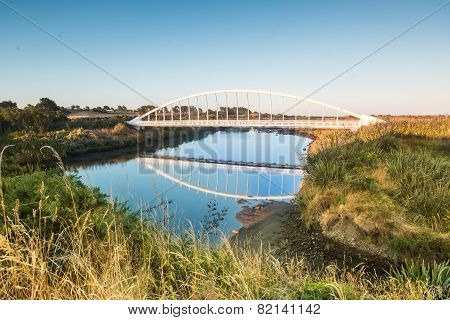 Te Rewa Rewa Bridge Reflection
