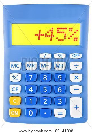 Calculator With 45