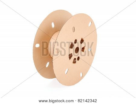 Cable Drum. Industrial Paper Reel For Fiber Optic Cable