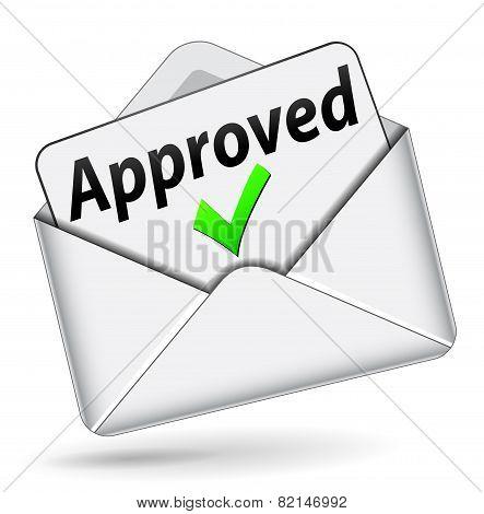 Approved Envelope Message
