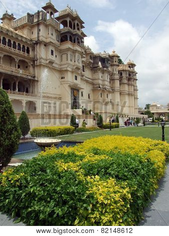 City Palace of Udaipur, India
