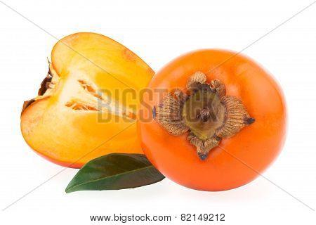 persimmon or kaki fruit
