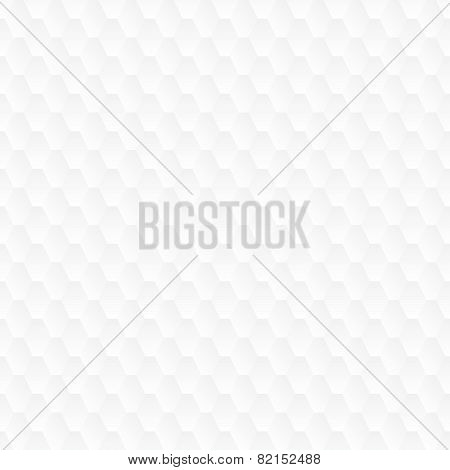 Subtle geometrical white seamless pattern