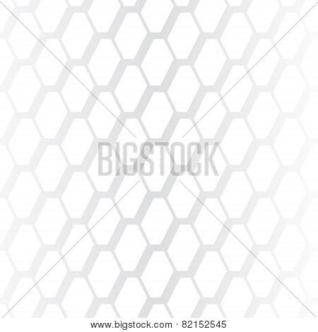 Subtle geometrical white seamless pattern