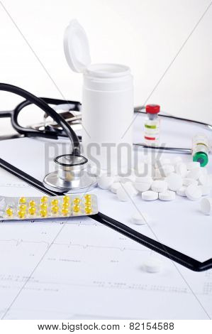 Stethoscope On  Printout